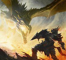 The Elder Scrolls V - Draconic Armor by ghoststorm