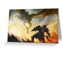 The Elder Scrolls V - Draconic Armor Greeting Card