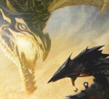 The Elder Scrolls V - Draconic Armor Sticker