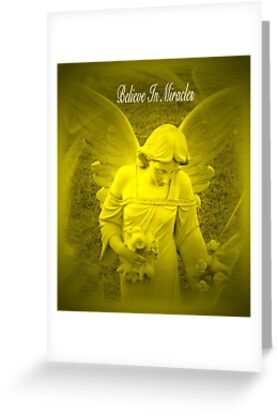 Believe In Miracles by Marie Sharp