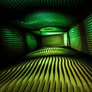 Abstract Light Painting in Green and Yellow by Pixie Copley LRPS