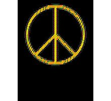 Peace Sign Symbol Abstract 5 Photographic Print