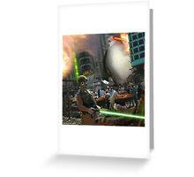 ROBOSTANI, Defender of the Galaxy Greeting Card