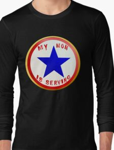 Blue Star MOM_whitebg T-Shirt