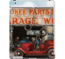 Car - Garage - Cherokee Parts Store - 1936 iPad Case/Skin