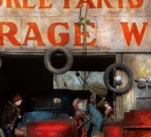 Car - Garage - Cherokee Parts Store - 1936 Sticker