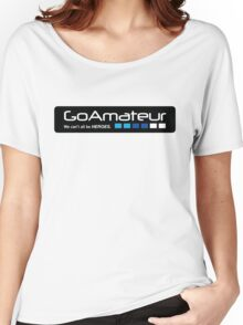 Go Amateur Sticker Women's Relaxed Fit T-Shirt