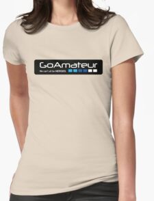 Go Amateur Sticker Womens Fitted T-Shirt