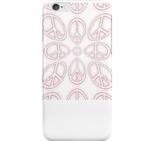 Peace Sign Symbol Abstract 6 iPhone Case/Skin