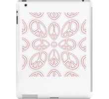 Peace Sign Symbol Abstract 6 iPad Case/Skin