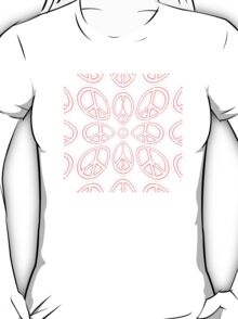Peace Sign Symbol Abstract 6 T-Shirt