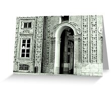 Turino facade Greeting Card