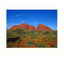 Uluru - Kata Tjuta National Park, Australia Art Print