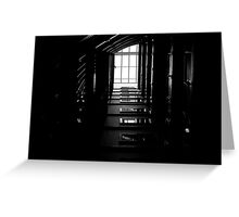 The Geometry Of Shadows Greeting Card