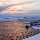 Sunrise at Lake of Kleifarvatn Iceland by Pixie Copley LRPS