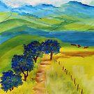 A dirt road  by Elizabeth Kendall