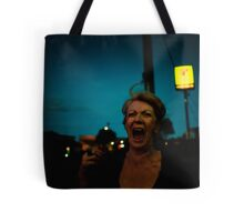 exclaimation used as an appeal for urgent assistance Tote Bag