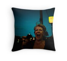 exclaimation used as an appeal for urgent assistance Throw Pillow