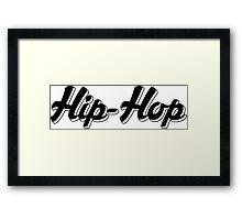 Hip-Hop Framed Print