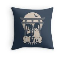 Spirited Away (blue) Throw Pillow