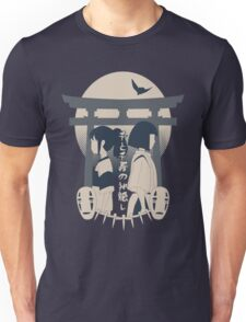 Spirited Away (blue) Unisex T-Shirt