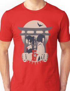 Spirited Away (blue) Unisex T-Shirt