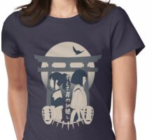Spirited Away (blue) Womens Fitted T-Shirt