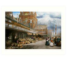 City - Kansas City farmers market - 1906 Art Print