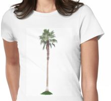Lonely Palm Womens Fitted T-Shirt