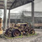 Essex Farm Tractor by Nigel Bangert