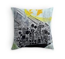 Structural Vancouver Throw Pillow