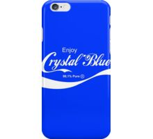 Crystal Blue iPhone Case/Skin