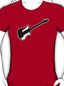 Electric Guitar Icon Symbol T-Shirt