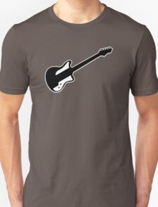 Electric Guitar Icon Symbol Unisex T-Shirt