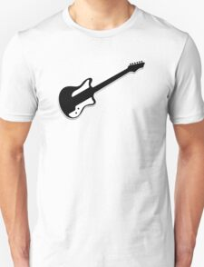 Electric Guitar Icon Symbol T-Shirt