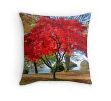 Brilliant Maple Throw Pillow