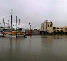 Ross Creek - Townsville Queensland - King tide - 2nd of February 2009 by Paul Gilbert
