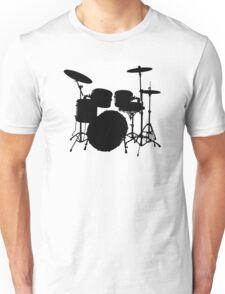 Drum Set Icon Symbol Unisex T-Shirt
