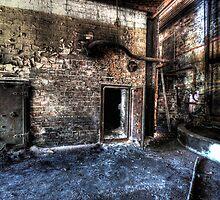 Burnt Out Factory by Matthew Jones