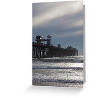 Oceanside Pier 3210 Greeting Card