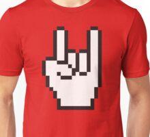 8 Bit Head Banger Symbol Unisex T-Shirt