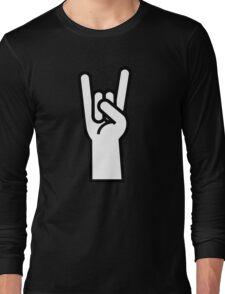 Heavy Metal Head Banger Long Sleeve T-Shirt