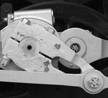 Locomotive drive mechanism by William Fehr