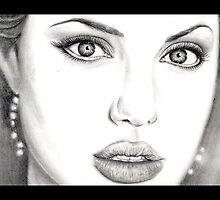 Angelina Jolie by emizaelmoura