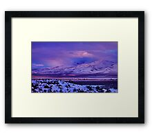 Easter Colors of Palomino Valley Framed Print