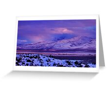 Easter Colors of Palomino Valley Greeting Card