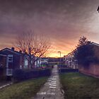 Sunrise in Harlow by Nigel Bangert