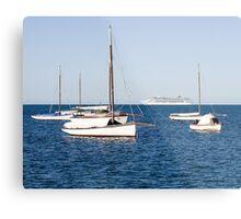 Sorrento Sailing Couta Boat Club Metal Print