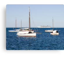 Sorrento Sailing Couta Boat Club Canvas Print