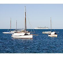 Sorrento Sailing Couta Boat Club Photographic Print